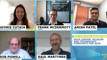 [Image for JSA Virtual Roundtable Featuring Our CEO Raul Martynek | Data Center, Telecom and Technology Forecasts for 2020