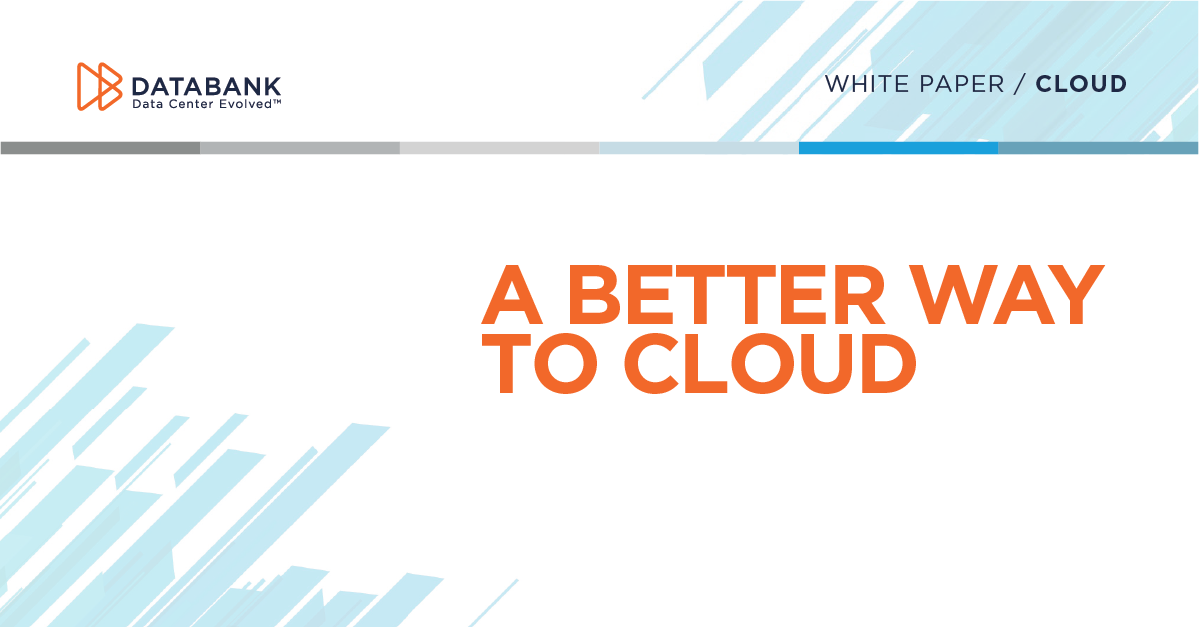 [Image for A Better Way To Cloud White Paper