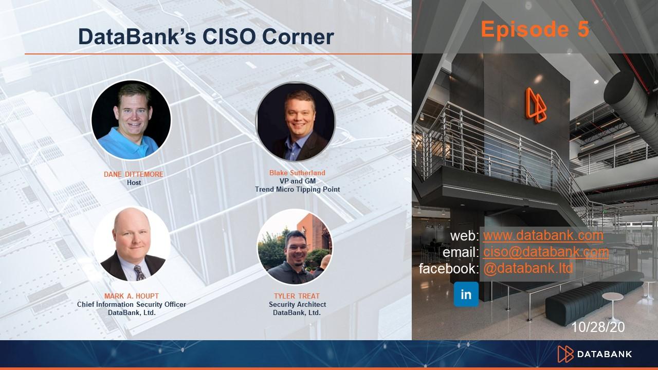 DataBank CISO Corner-Espisode-4-Thumbnail