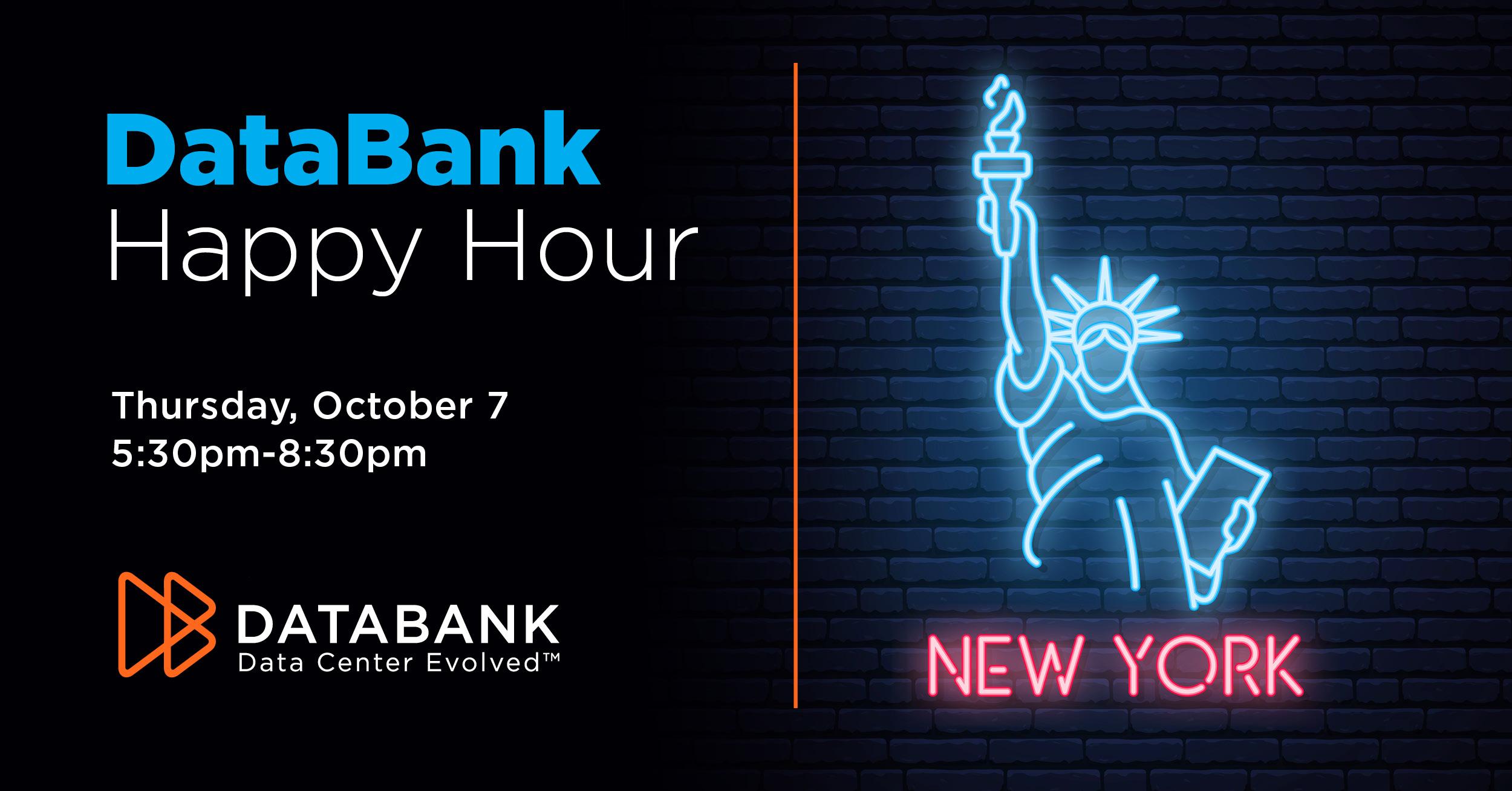 DataBank's New York City Happy Hour
